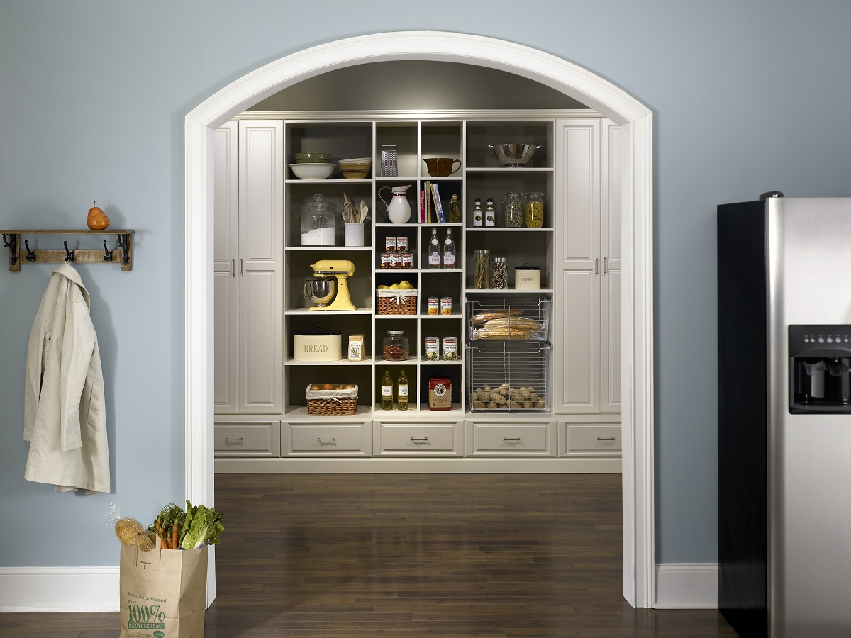 pantry organization system in Boston home