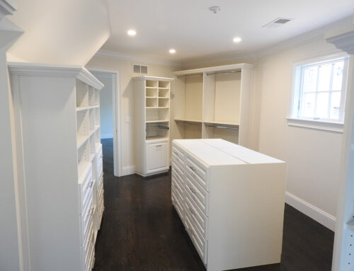 5 Things You Need to Consider Before Installing a Closet Island